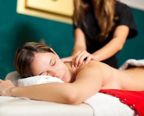 A Swedish massage is intended for relieving tight muscles from daily stress
